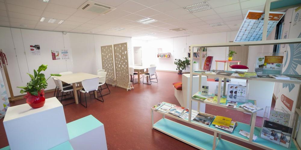 L'espace coworking et le centre de ressources